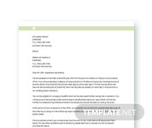 formal letter example free offer letter format in microsoft word apple 1232