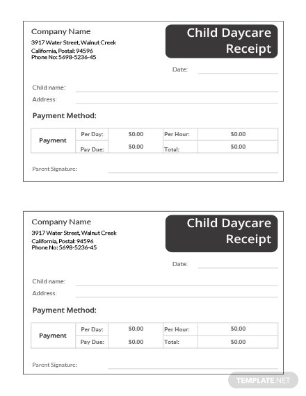 Free Receipt Templates | Download Ready-Made | Template.net