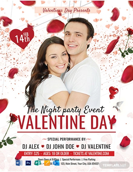 Free Valentine's Day Party Flyer