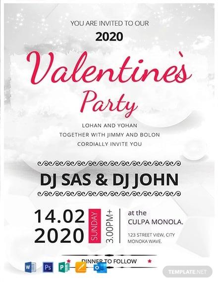 Valentine's Party Invitation