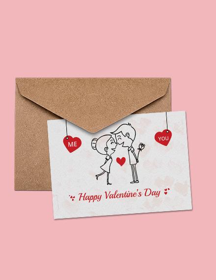Elegant Valentine's Day Greeting