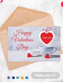 Special Valentine's Greeting card