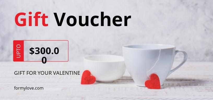 Editable Valentine's Day Voucher