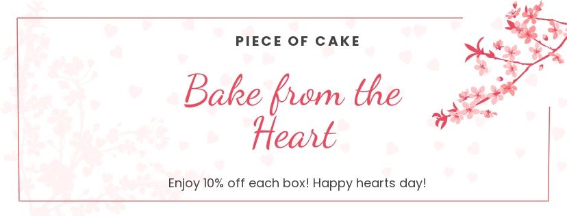 Valentine's Day Facebook Template