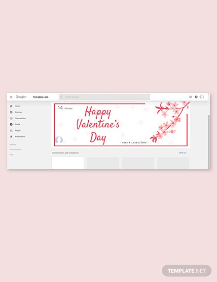 Valentine's Day Google Plus