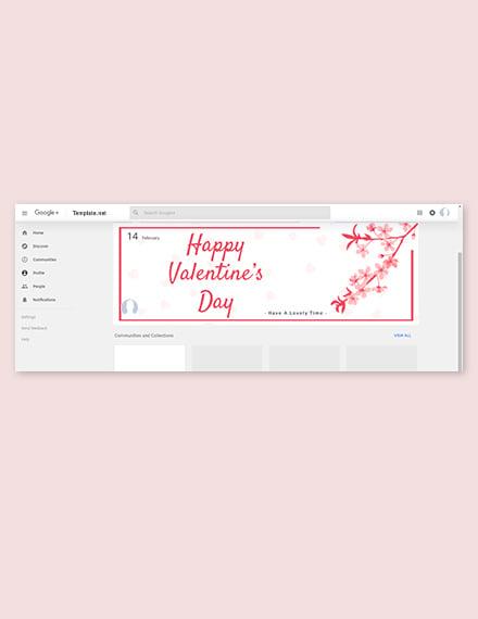 Valentine's Day Google Plus