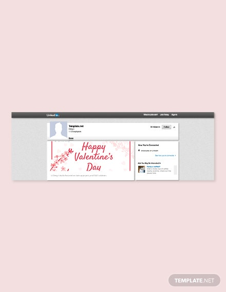 Valentine's Day Linkedin Post
