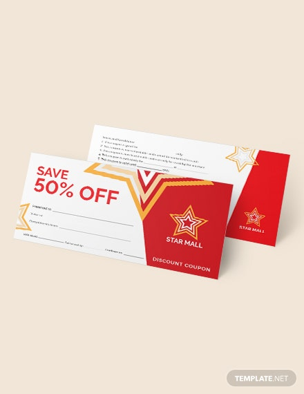 Sample Blank Coupons