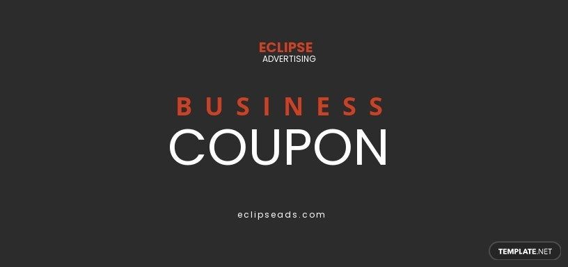 Business Coupons Template