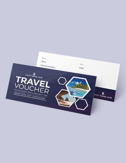 Sample Travel Voucher