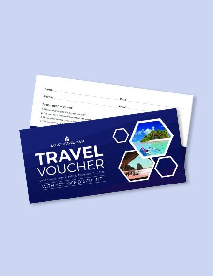 Travel Voucher Download
