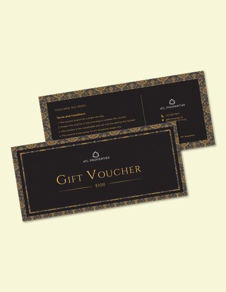 Elegant Gift Voucher Download