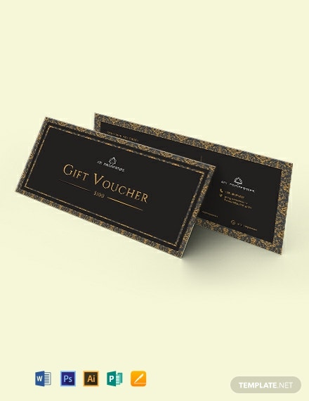 Elegant Gift Voucher Template