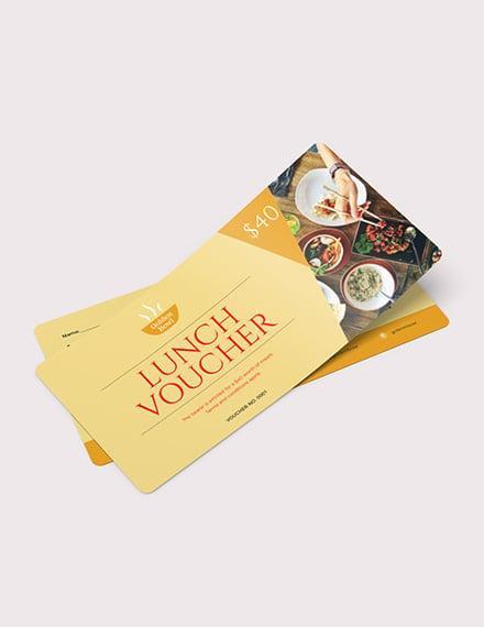Lunch Voucher Download
