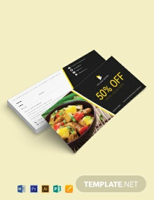 Meal Voucher Template
