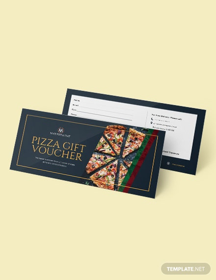 Pizza Voucher Template Download 43 Vouchers In Microsoft Word