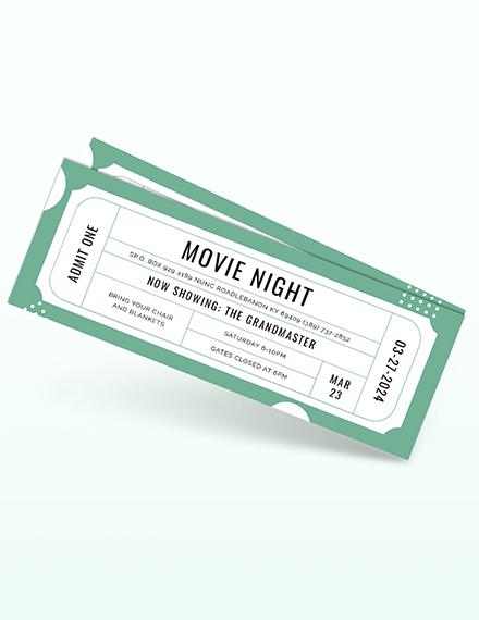 Raffle Movie Ticket Download
