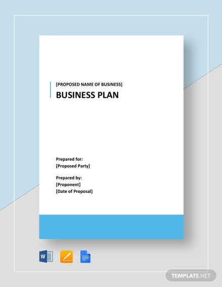 Fitness Center Business Plan Template