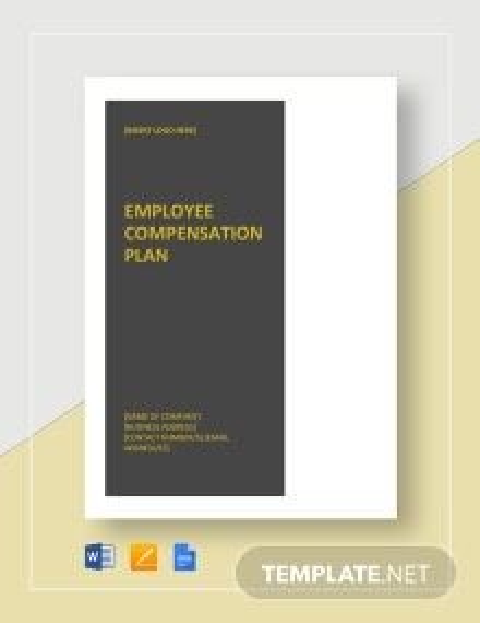 Employee Compensation Plan Template