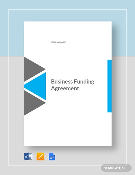 business funding agreement 2
