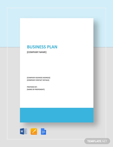 Clothing Store Business Plan Template