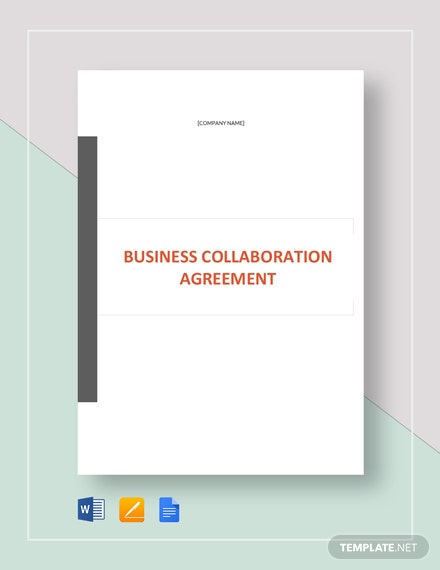 business collaboration agreement 2