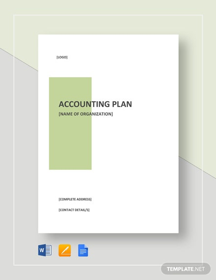 Accounting Plan Template