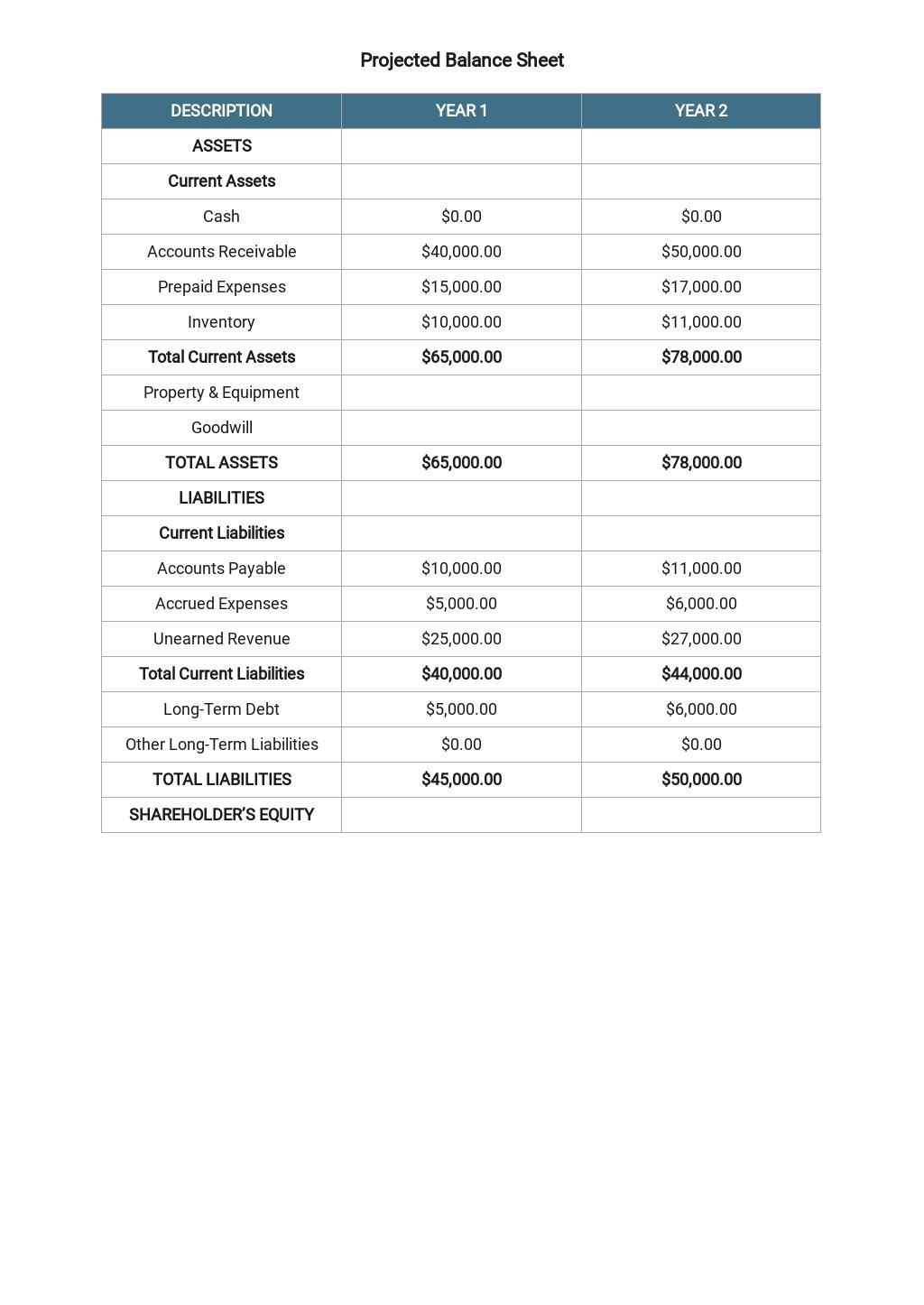 Business Plan Budget Template 6.jpe