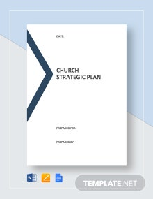 Church Strategic Plan Template