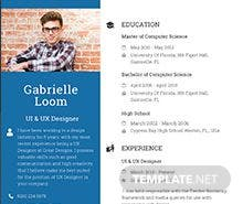 Free UX Designer Resume Template