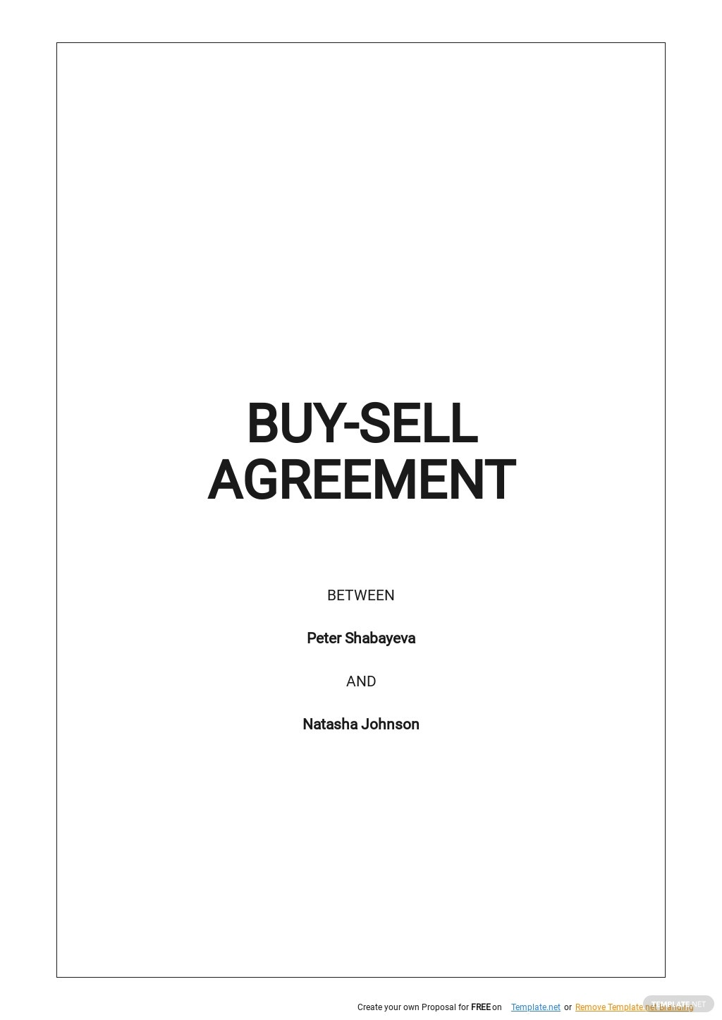 Buy Sell Agreement Template.jpe