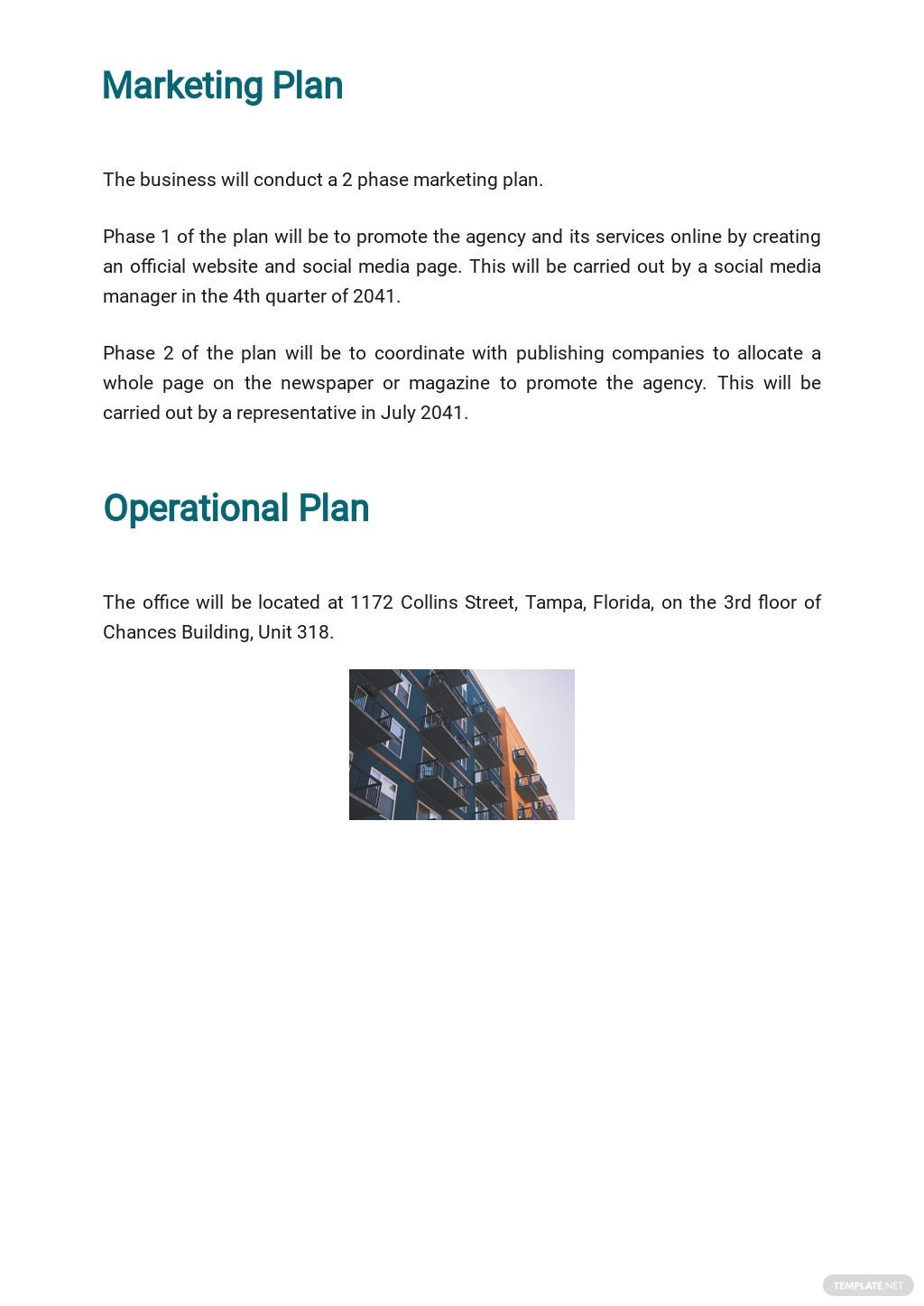 Advertising Agency Business Plan Template 4.jpe