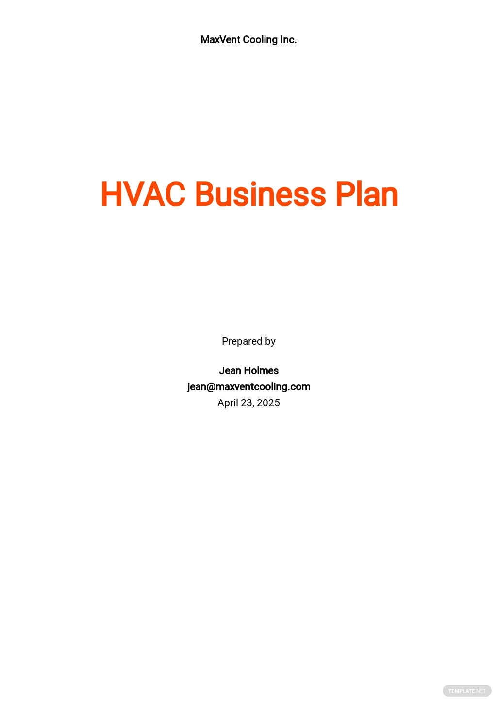HVAC Business Plan Template.jpe