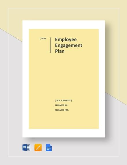 Employee Engagement Plan Template
