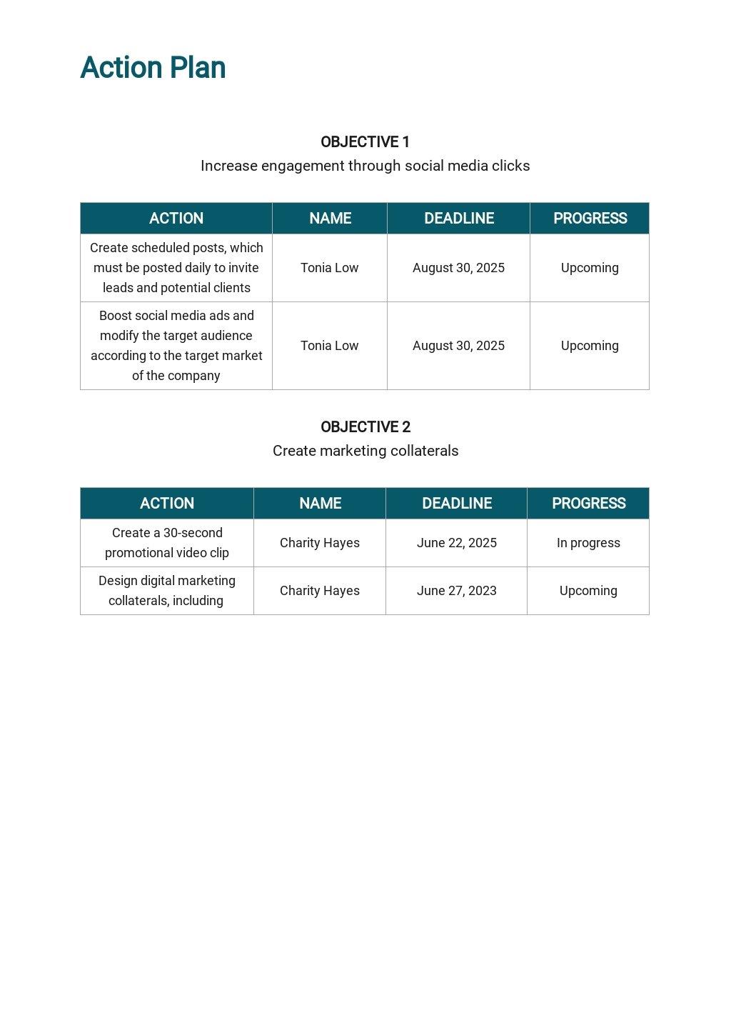 Integrated Marketing Communications Plan Template 5.jpe