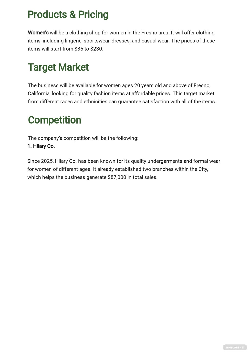 Clothing Business Plan Template 2.jpe
