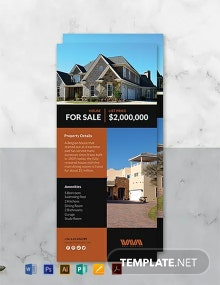 Free Real Estate Rack Card Template