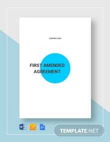 Contract Amendment Template