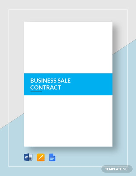 Business Sale Contract