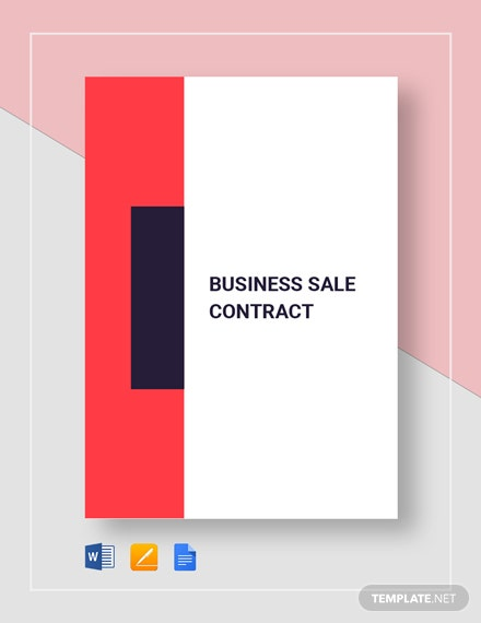 Business Sale Contract Template