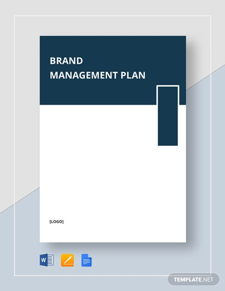 Brand Management Plan Template