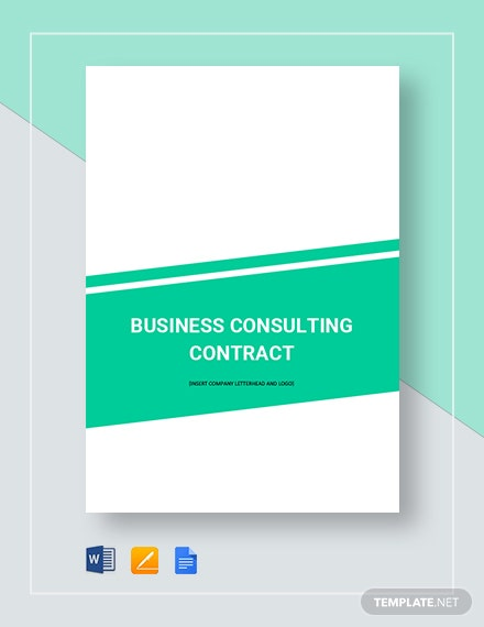 Business Consulting Contract Template Download 20 Contracts In