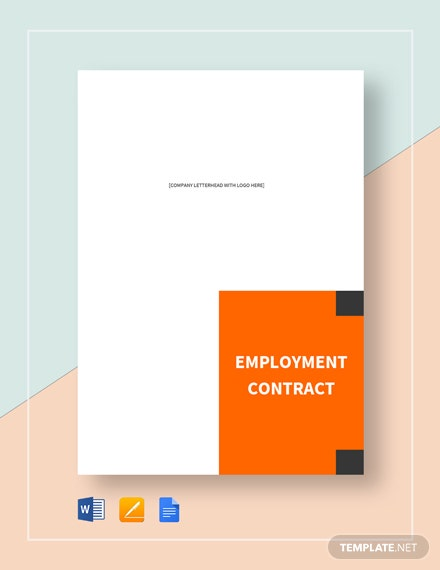 Director Employment Contract Template