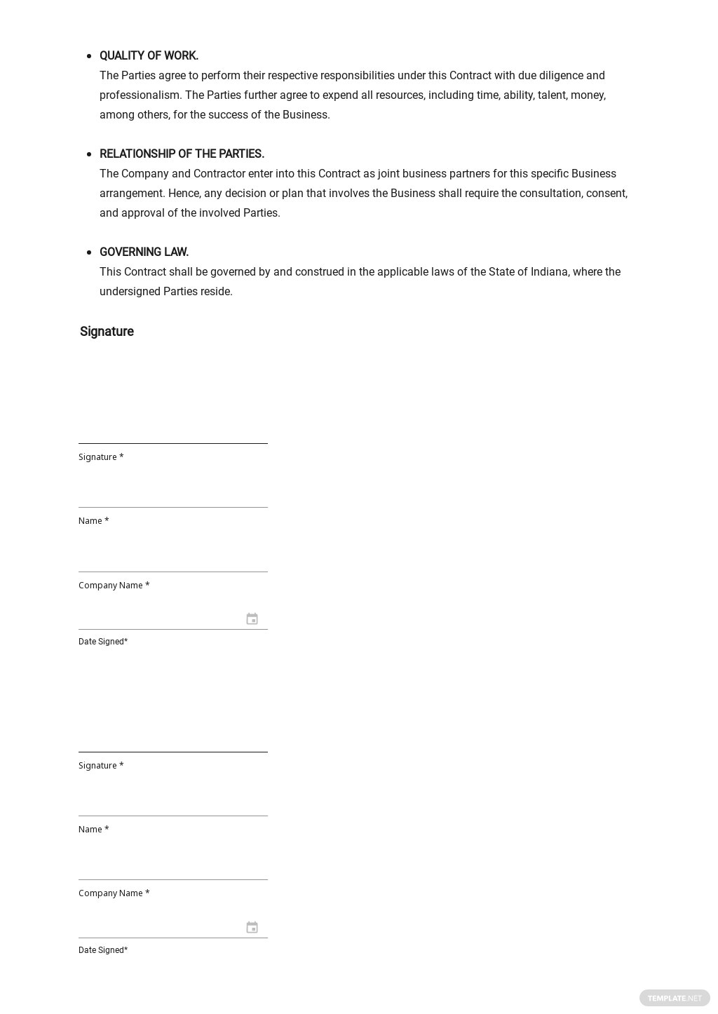 Business Agreement Contract Template 3.jpe