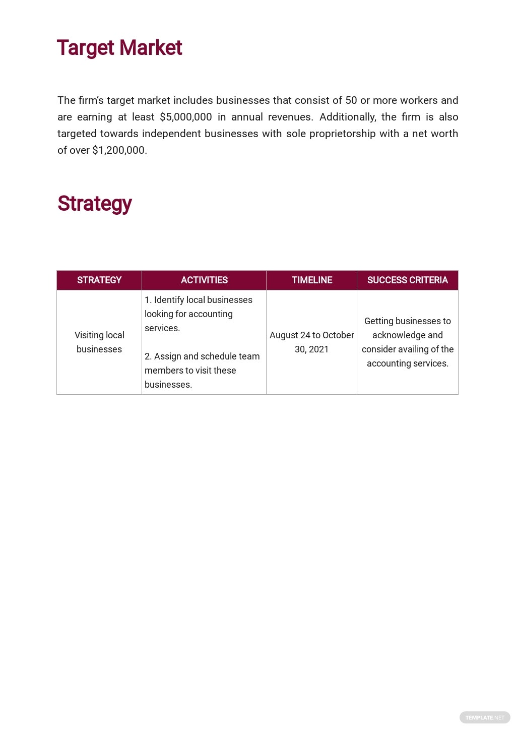 Accounting Firm Marketing Plan Template 2.jpe