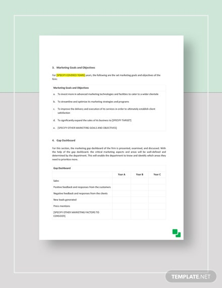 Accounting Firm Marketing Plan Download