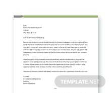 Free Basic Appointment Letter Template