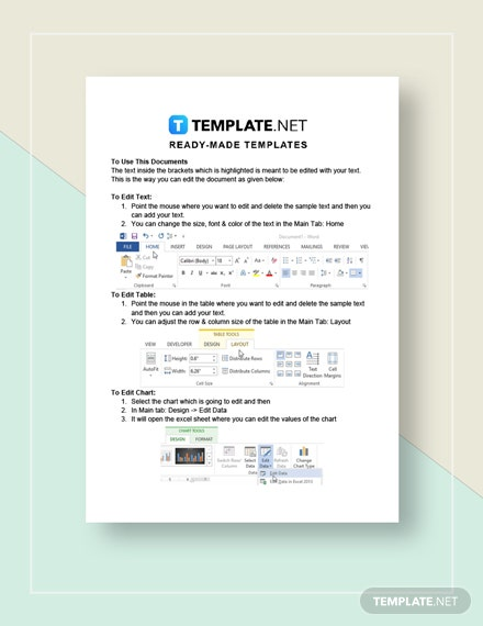 Cleaning Business Contract Template Word Google Docs