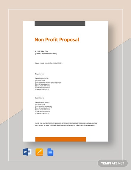 Non-Profit Proposal Template