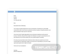 Free Doctor Appointment Letter Template
